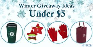 budget friendly winter giveaway ideas