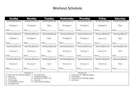 Fitness Progress Chart Template For Excel Printable Fitness