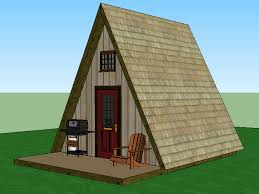 Small Picture A Frame Cabin Simple Solar Homesteading 14x14 with loft Little