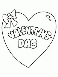 100 Kleurplaten Van Valentijnsdag Valentijnskaart Printen En