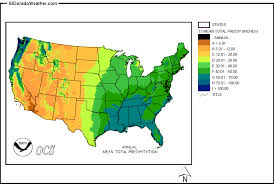 California Annual Rainfall Chart United States Yearly Annual And Monthly Mean Total