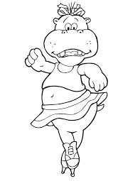 hippopotamus coloring pages coloring home