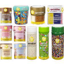 Wilton Sprinkles kẹo đường trang trí bánh kẹo - Thực Phẩm Đông Lạnh Khác