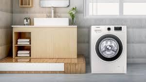 Máy giặt cửa trước 9kg inverter Samsung WW90J54E0BW/SV - Gia dụng Ngọc Thụy
