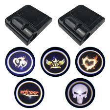 <b>1PCS Universal</b> Wireless <b>Car</b> Door Welcome Logo Light Projector ...
