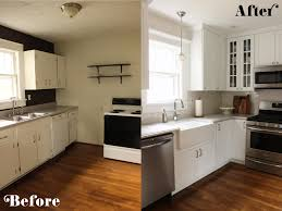 Cheap Kitchen Remodel Before And After Outofhome - Kitchen renovation before and after