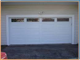 functional garage door panel with windows 4 decorative garage door windows