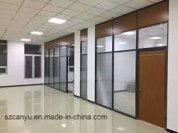 modern office partition. Modern Office Partition Tempering Glass Wall For Customized Size E