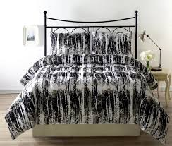 bedroom beautiful black white queen size bedspread cotton feel charming twin high quality micro fiber material