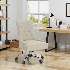 gentle modern home office. Bagnold Home Office Fabric Desk Chair, Wheat Gentle Modern P