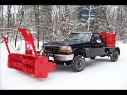 Snowblower Truck- Stockholm Maine - YouTube
