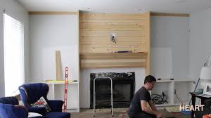 Built In With Fireplace Diy Built Ins Part 1 Withheart Youtube