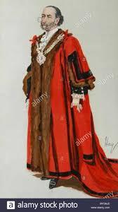 English: Caricature of Sir James Whitehead. Caption read 'Bonnie ...