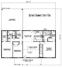 3 bedroom 2 bath house plans.  Plans With 3 Bedroom 2 Bath House Plans E