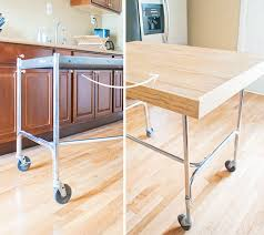 diy kitchen island cart. The Cart Was In Good Condition, But It Did Need A Shining And Few Alterations To Make Really Work For Us Space. Diy Kitchen Island T