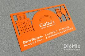 Business Cards For Restaurants Real Estate Templates Delightful