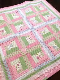 Best 25+ Girls quilts ideas on Pinterest | Baby girl quilts, Baby ... & Chic Baby Girl Quilt Pattern by Christine J Designs- Enjoy stitching this  adorable Vintage Modern Adamdwight.com