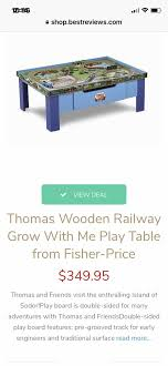 thomas wooden railway grow with me table fisher