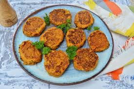 vegetable fritters from leftover cooked