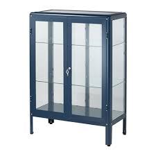 glass cabinet furniture. IKEA FABRIKÖR Glass-door Cabinet Adjustable Feet; Stands Steady Also On An Uneven Floor Glass Furniture
