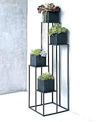 metal outdoor plant stand rectangular plant stand outdoor international caravan woven wicker rectangular