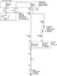 gmc envoy xl shift interlock system wiring circuit wiring diagrams gmc envoy xl shift interlock system wiring