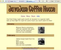 CIS        HTML   CSS   COD   Page     Course Hero YouTube case study   menu    pages JavaJam menu
