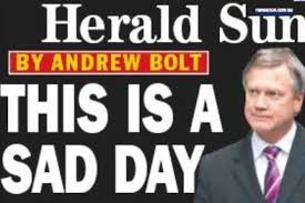 Conservative commentator and sky news presenter andrew bolt and his wife are about to put their eastern suburbs family home on the market and head for the victorian countryside. Andrew Bolt Featured In The Herald Sun Herald Sun Abc News Australian Broadcasting Corporation