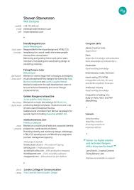 Web Design Resume Reference Great Resume Layout All Business