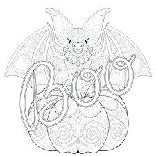 Scary Printable Coloring Pages Halloween Pictures Staranovaljainfo