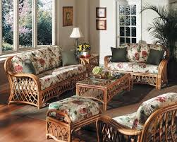 furniture excellent contemporary sunroom design. furniture tropical style wicker rattan design with floral pattern sheet and excellent glass top contemporary sunroom
