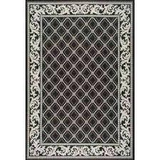 home depot outdoor rugs trellis outdoor black 5 ft x 8 ft area rug home depot