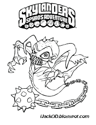 Skylander Pictures To Color Printable Coloring Pages Luxury Coloring