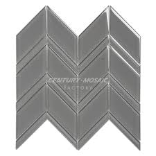 century mosaic crystal glass chevron 1