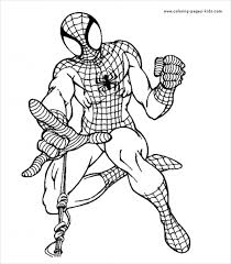 Small Picture Stunning Spiderman Coloring Gallery New Printable Coloring Pages
