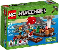 Bộ đồ chơi Lego Minecraft 21129 - Hòn đảo nấm, Giá tháng 2/2021