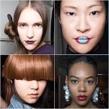 hair and makeup fall 2016 new york fashion week