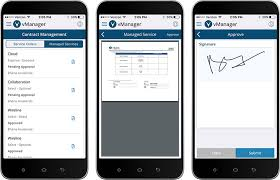 open it tickets search inventory approve and sign contractore with the one of a kind mobile app for it lifecycle management