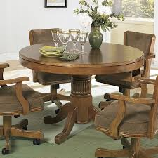 game table chairs with casters