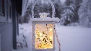 Snow Light Download 3840x2160 Lantern Frost Snow Light Wallpapers