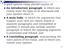the opinion essay 4 4 a good opinion essay