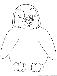 Make a coloring book with penguin cute for one click. Penguin Printable Coloring Pages Coloring Home