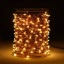 Outdoor Led String Lights With Remote Control 33 Ft 100 Led String Lights With Remote Control Waterproof Outdoor Decorative Lights 110v Spool Package Design Camping String Lights String Lights