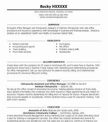 Chiropractic Assistant Resume Mesmerizing Resume For Chiropractic Assistant Zromtk