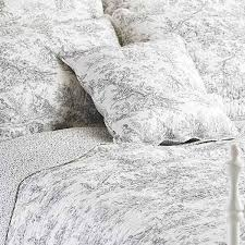 pictures gallery of grey toile bedding share