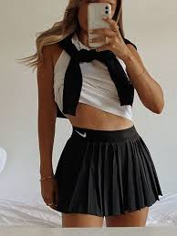 Alibaba.com offers 1,318 tennis outfit products. The Tennis Skirt Outfit Trend And Where To Buy Design Roses