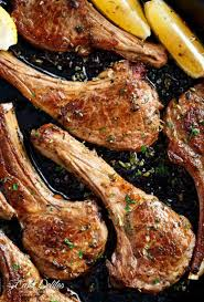 Greek Lamb Chops Cafe Delites
