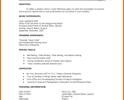Singular Resume Format For Job Application In Word Pdf File Free ...