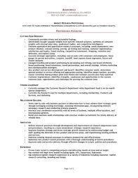 Marketing Researcher Sample Resume market research resume samples Ninjaturtletechrepairsco 1