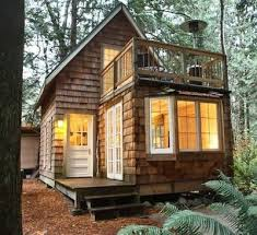 Small Picture a tiny cabin with balcony and small space ideas galore Tiny